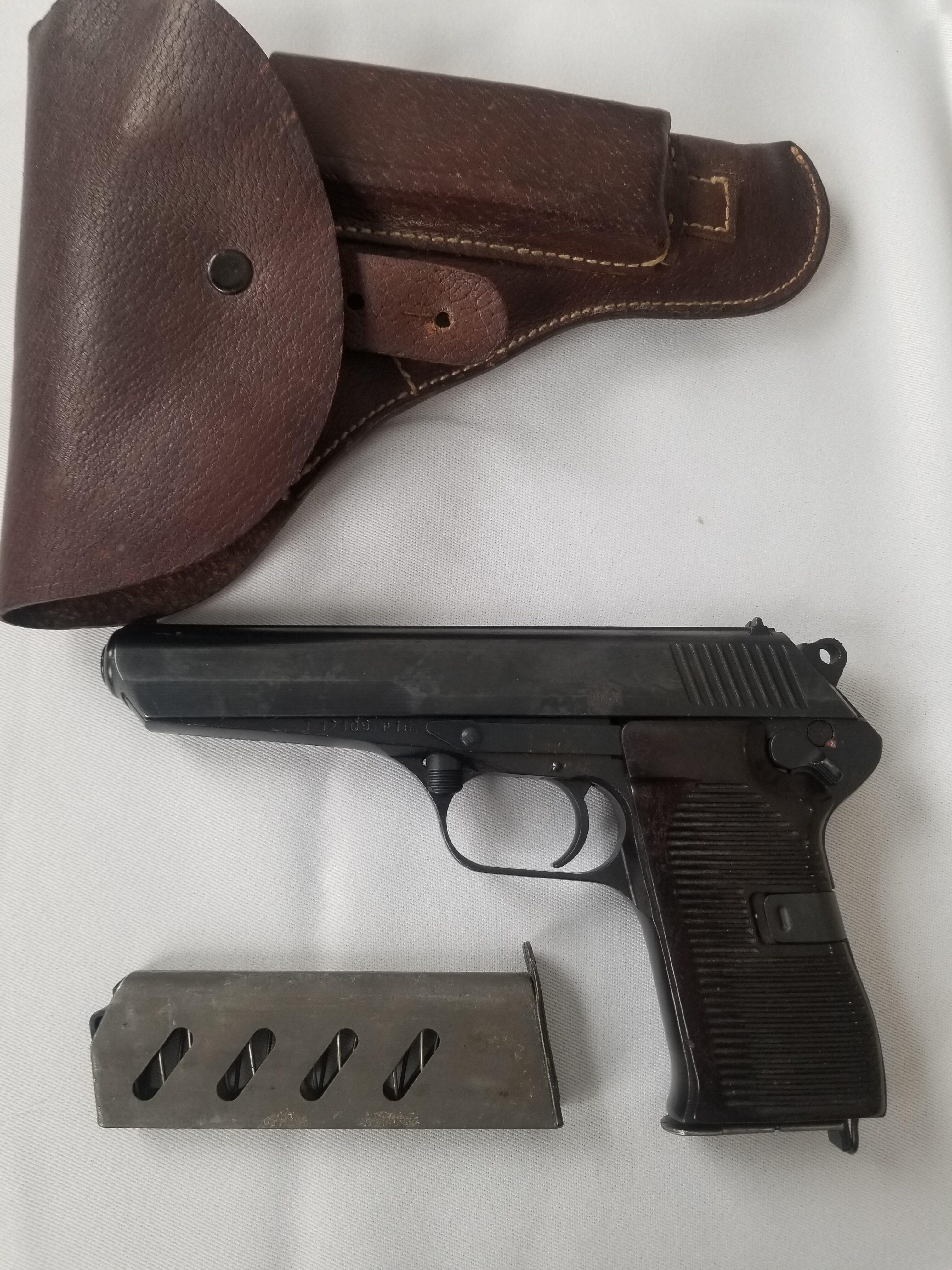 CZ 52 7.62 x 25mm Semi-Auto Pistol