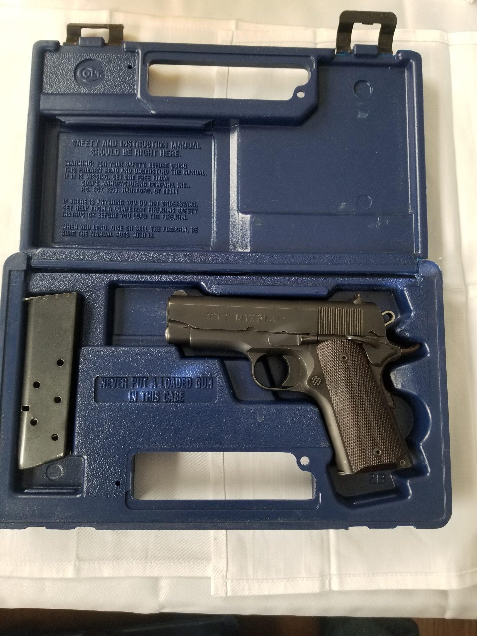 Colt 1991-A1 .45 ACP Semi-Auto Pistol
