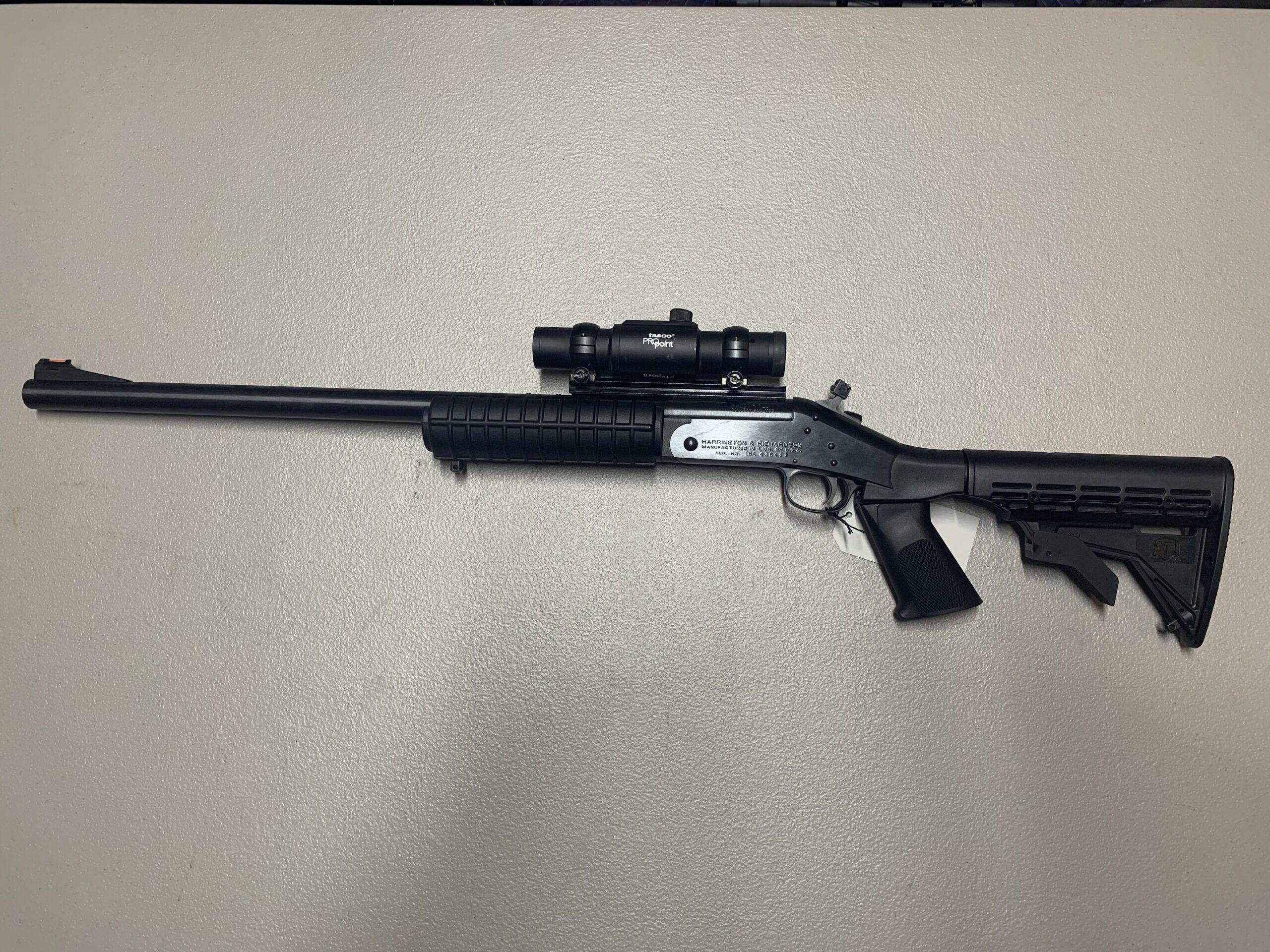 Harrington & Richards Handi Rifle 500 S&W Magnum