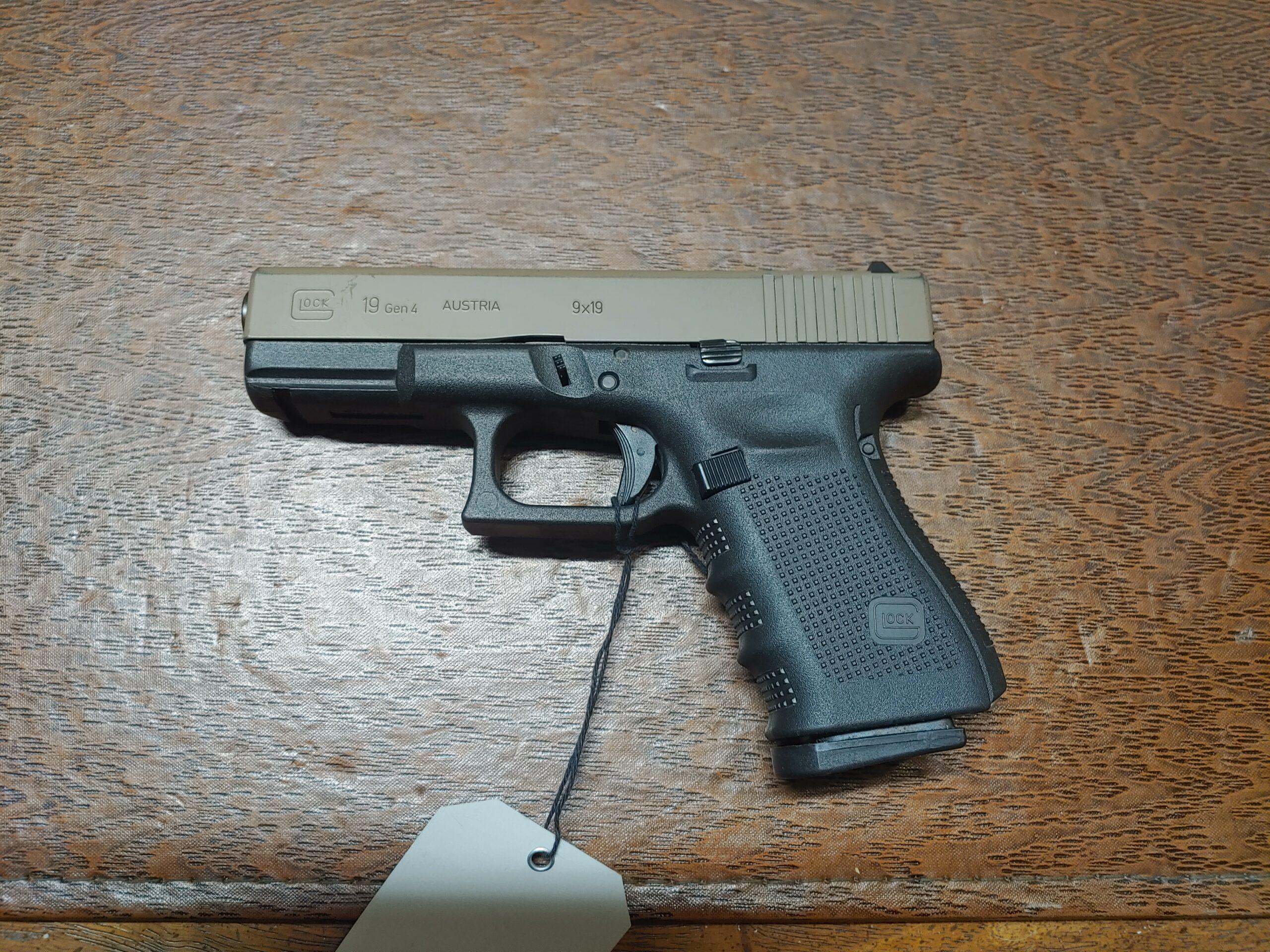 Glock 19 Gen4 9mm