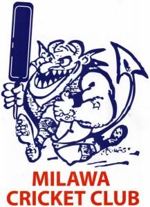 Milawa Cricket Club Logo