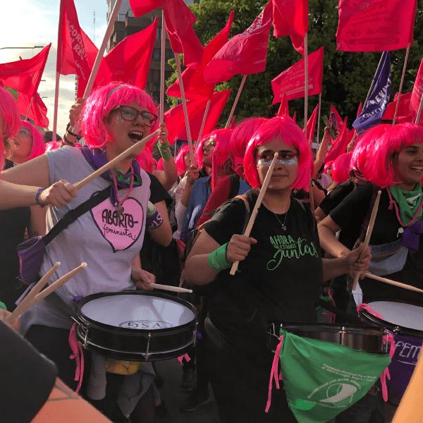 La marcha feminista más grande de la historia