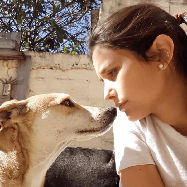 ¿Cómo se llega a ser una rescatista de perros?