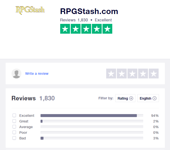 RPGStash Review for Cheap OSRS Gold 2