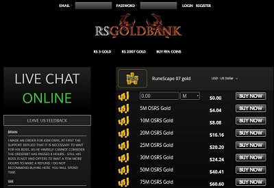 RSGoldbank Screenshot