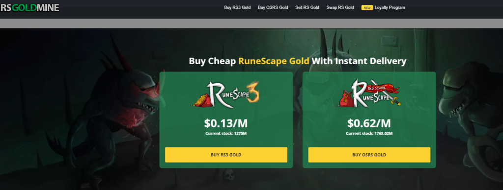 RSGoldMine Review Best OSRS Gold Website