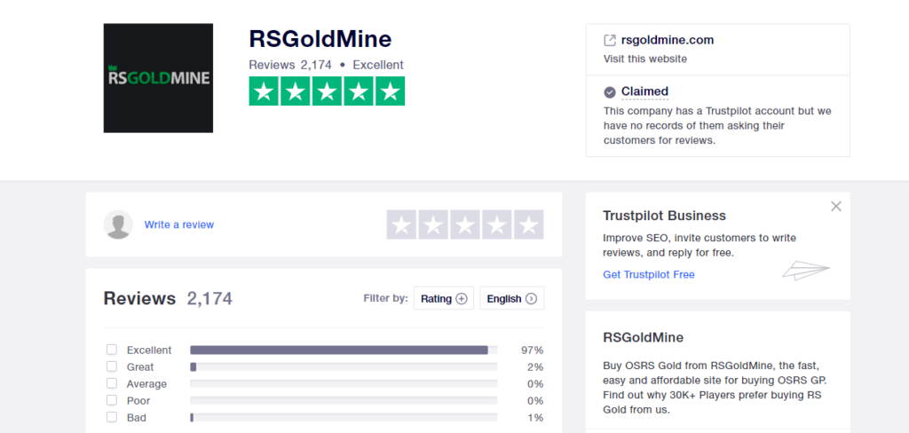 RSGoldMine Review on Cheapest OSRS Gold