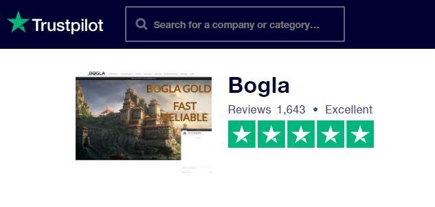 Bogla Gold 2 Trustpilot