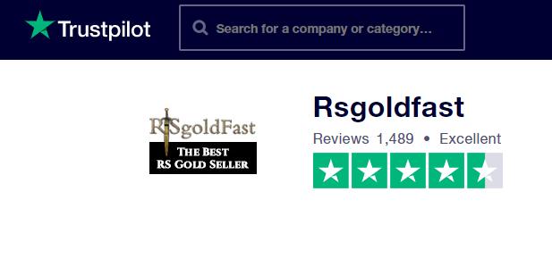 rsgold fast on trustpilot