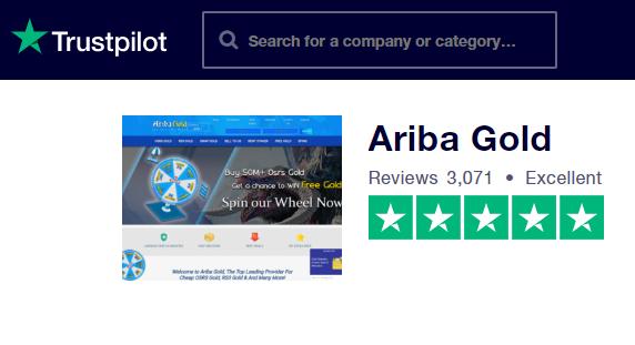 Ariba Gold Trustpilot