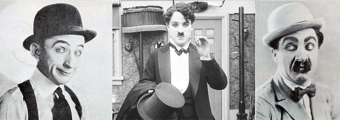 Larry Semon Charlie Chaplin Jimmy Aubrey