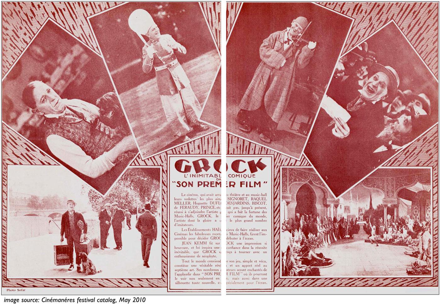 Grock Son Premier Film