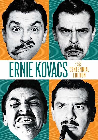 Ernie Kovacs Centennial DVD box