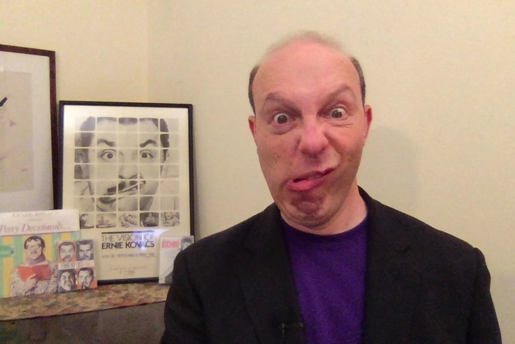 Ben Model introduced Ernie Kovacs show via Skype