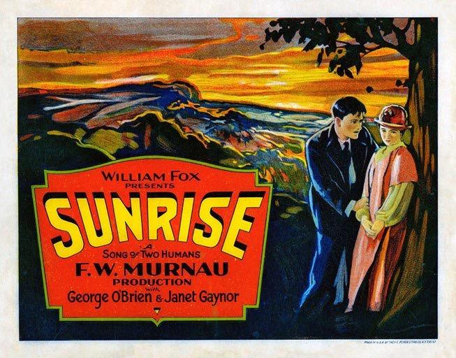 Sunrise lobby card