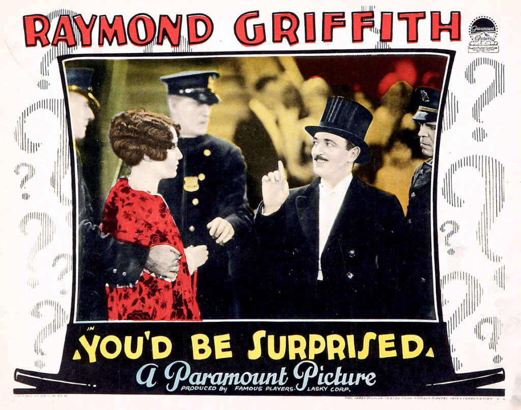 Raymond Griffith lobby card