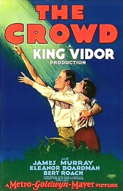 Poster for King Vidor's The Crowd