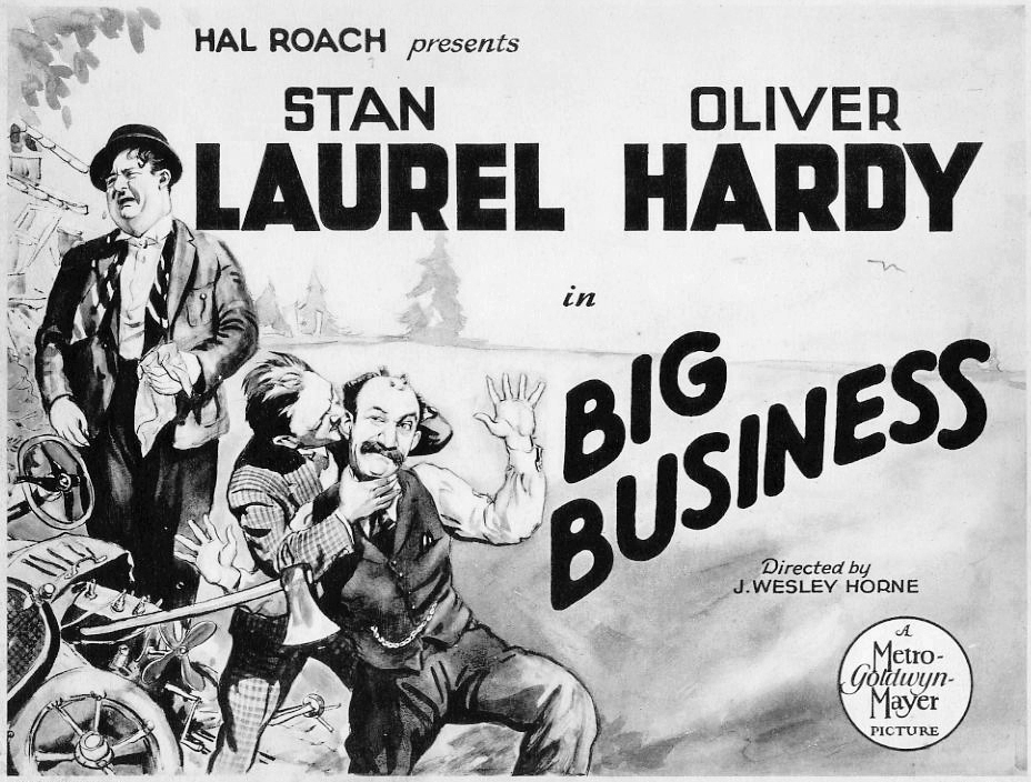 Big Business Laurel and Hardy