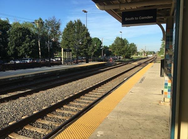Burlington South Light Rail Station - Burlington, NJ