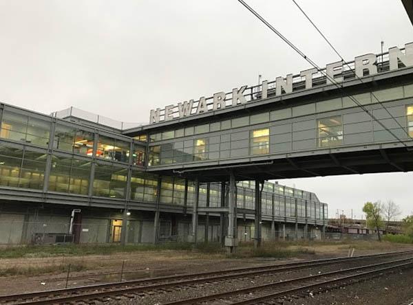 Newark Liberty International Airport Station - Burlington, NJ