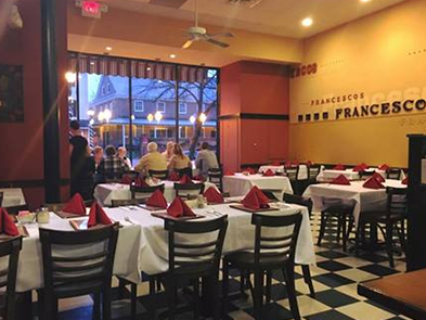 Francesco Pizzeria-Ristorante, Burlington, NJ/The Lily Inn