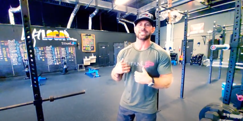 titanup fitness owner talking about fitness boot camps in Jacksonville fl