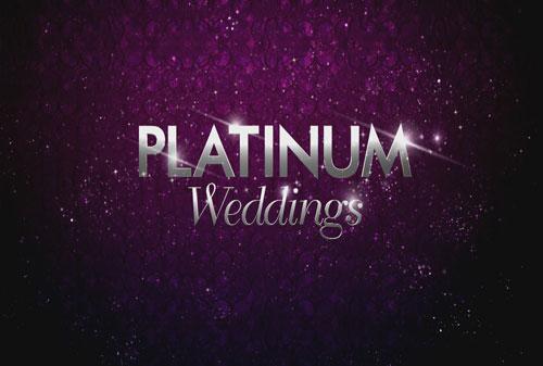 UDS Featured in 5 Platinum Wedding Episodes