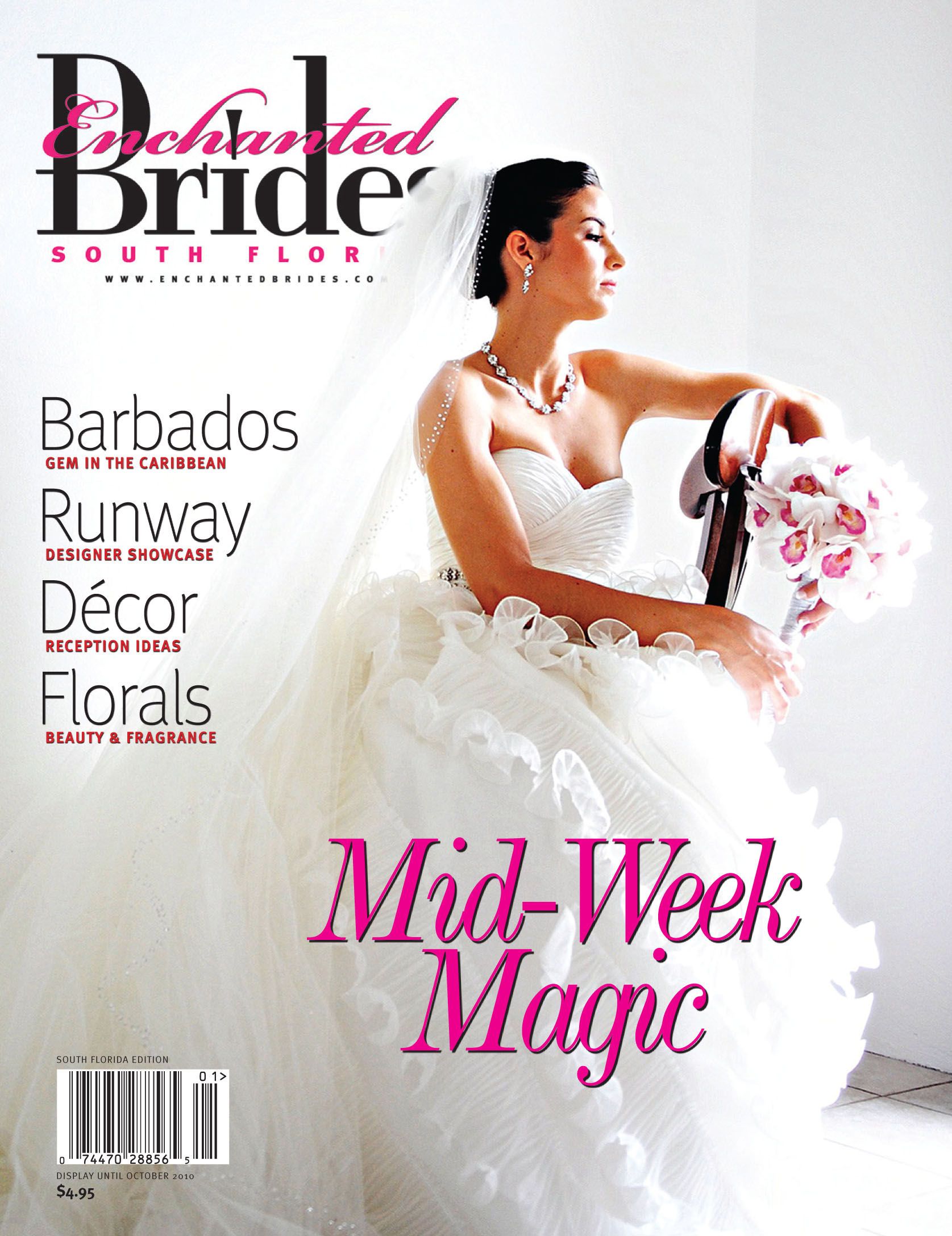 UDS on the Cover of Enchanted Brides Magazine