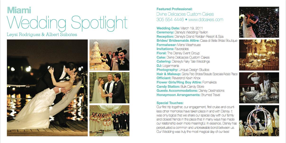 Wedding Spotlight: Leysi & Albert | Disney World, Orlando, FL