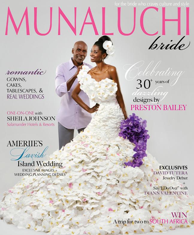 Ameriie's Wedding Featured in Munaluchi Bride Magazine