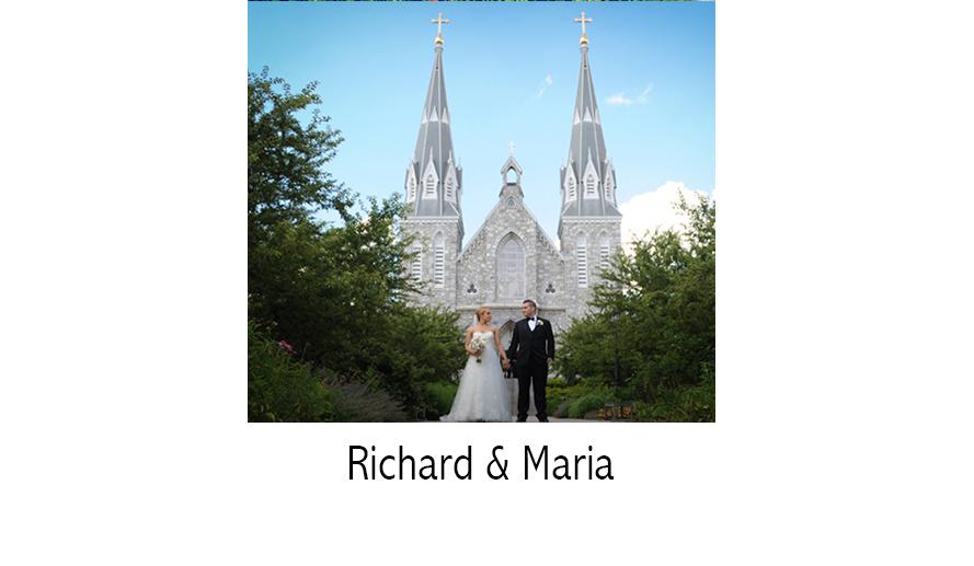 Richard & Maria | Wedding Photographer | Destination Wedding Photography | Villanova, PA