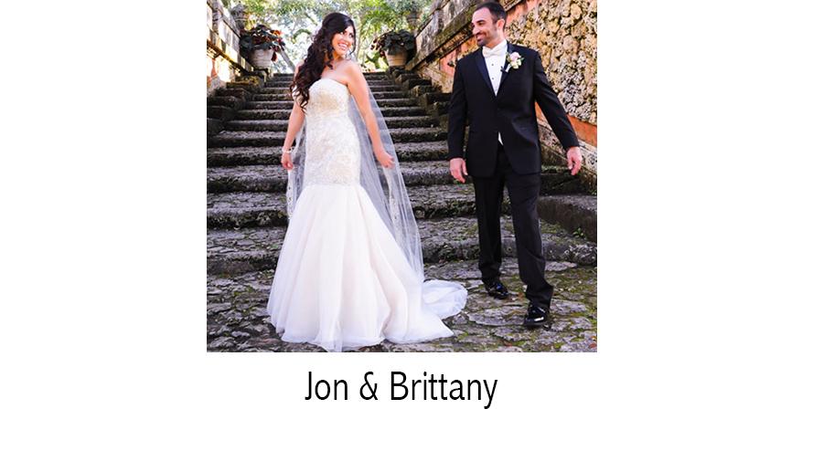 Jon & Brittany | Wedding Photographer | Vizcaya Museum | Coral Gables, FL