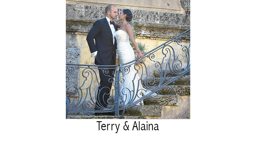 Terry & Alaina | Wedding Photographer | Vizcaya Museum | Coral Gables, FL