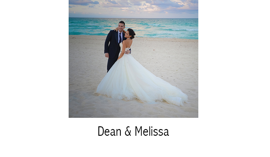Dean & Melissa | Wedding Photographer | The Bath Club | Miami Beach, FL