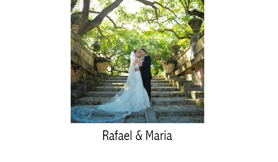 Rafael & Maria | Wedding Photographer | Vizcaya Museum | Coral Gables, FL