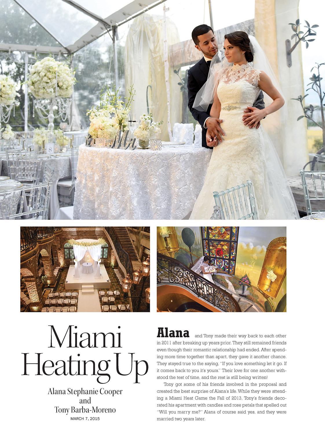 Miami Heating Up | ENCHANTED BRIDES