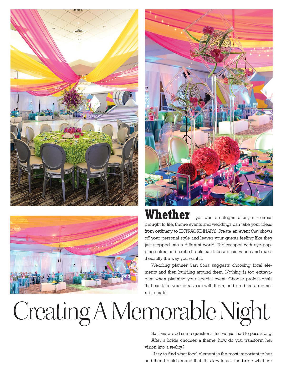 Creating A Memorable Night | ENCHANTED BRIDES