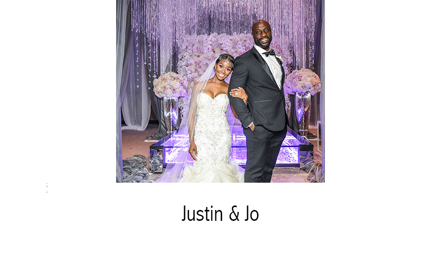 Mr. & Mrs. Justin Houston | NFL Wedding Photographer | Atlanta, GA