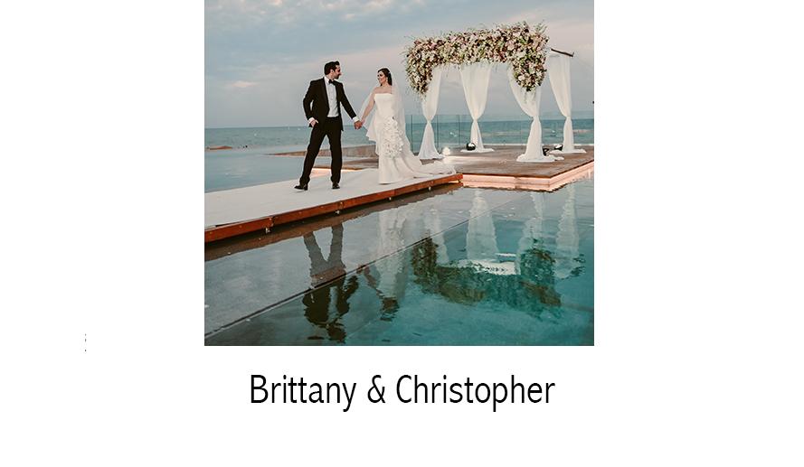 Brittany & Christopher   Destination  WEDDING PHOTOGRAPHY