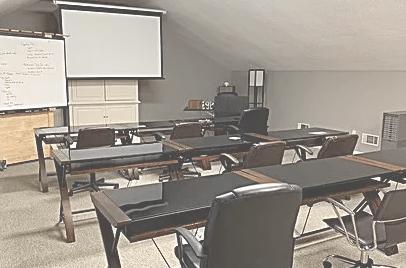 Infor EAM training room