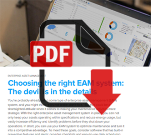 Choosing the right EAM System (PDF)