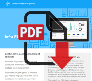 Infor EAM Software Overview (PDF)