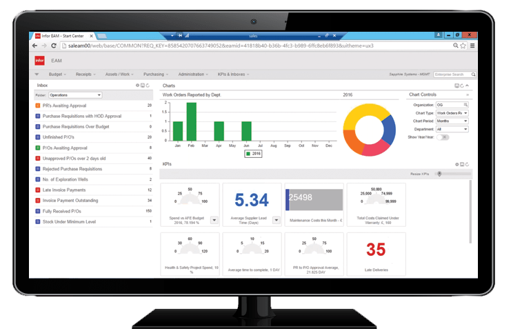 Infor EAM Enterprise Software
