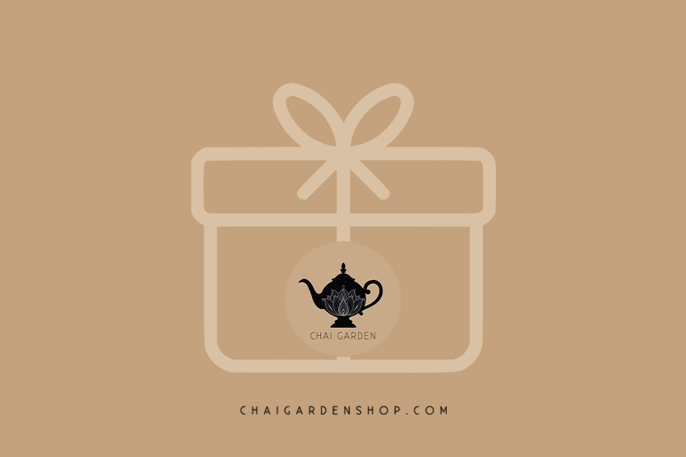 chai garden gift card, unique gifts,