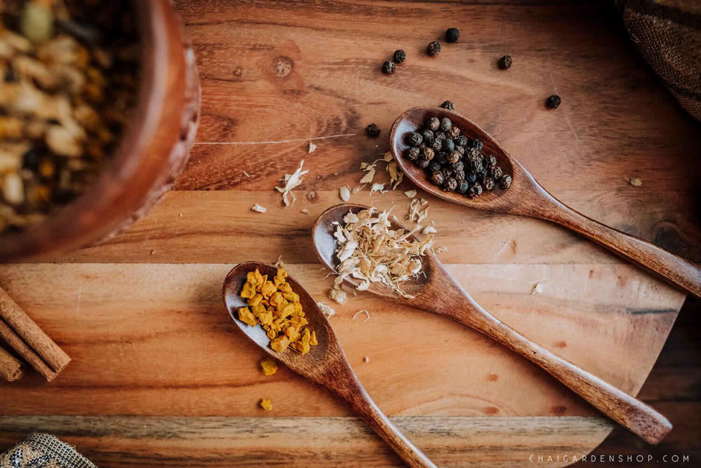 golden tea, golden chai, turmeric chai, turmeric tea, chai garden, organic chai, immunity tea, immune boosting tea, immunity chai, herbal chai, authentic chai tea, spokane chai, spokane tea shop