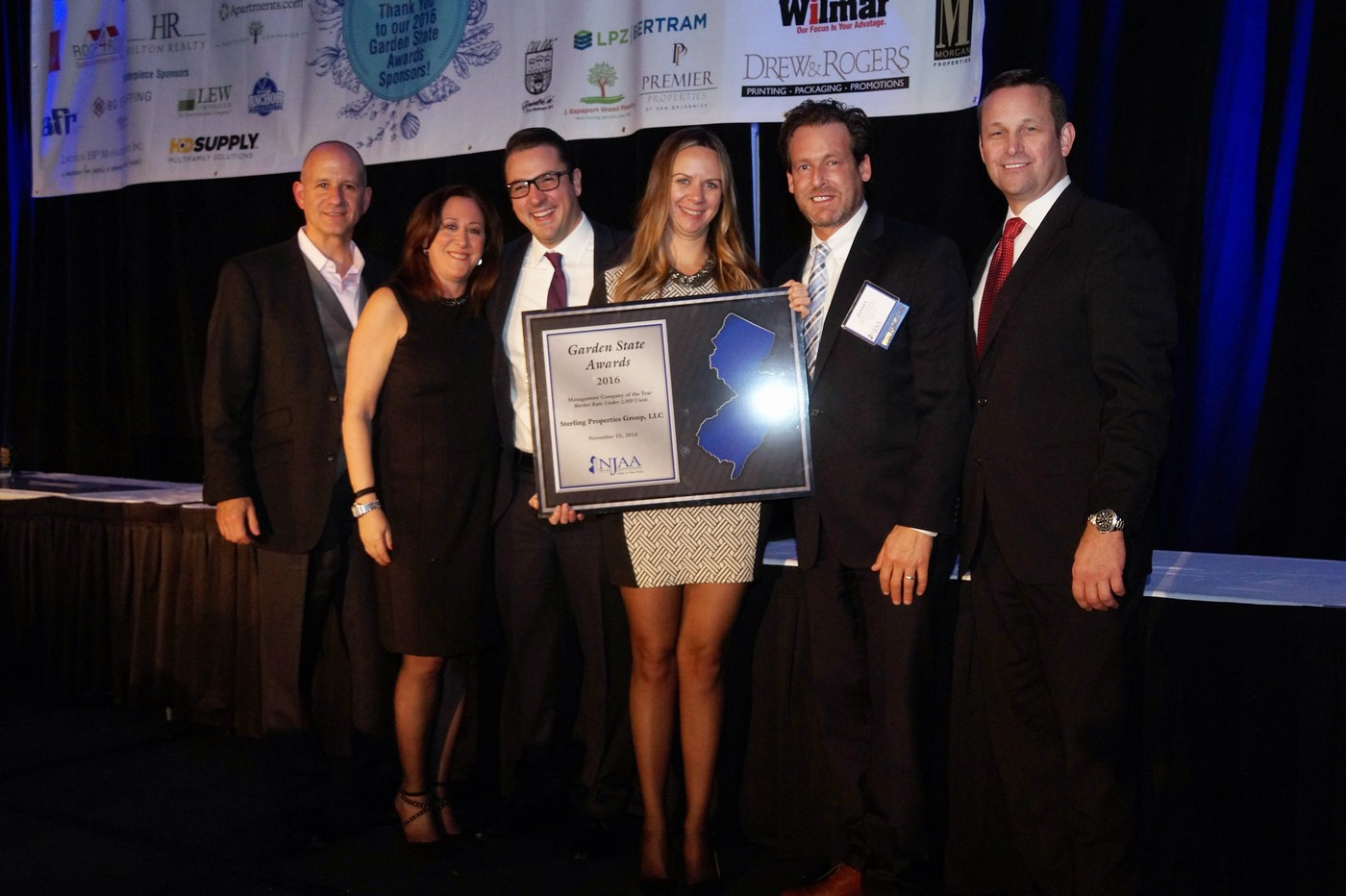 Sterling Properties LLC was among the firms honored this year by the New Jersey Apartment Association. — Courtesy: New Jersey Apartment Association
