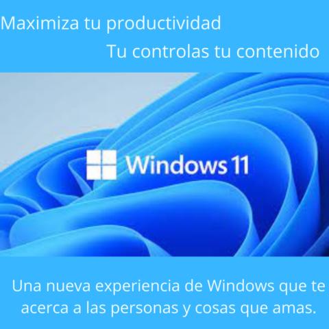 Lo nuevo – Windows 11