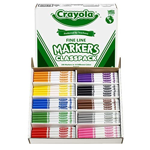 Crayola 200-Count Fine Line Markers Up to 45% Off! Was $97.93!