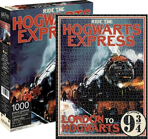 Aquarius Harry Potter Hogwarts Express 1000 Piece Jigsaw Puzzle Up to 25% Off! Was $15.99!