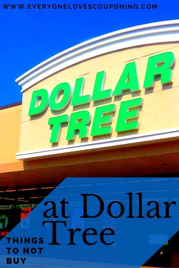 Things NOT to Buy at the Dollar Tree
